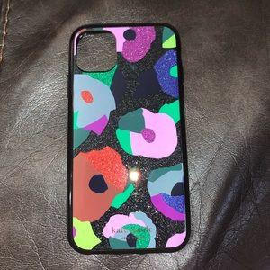 KATE SPADE IPhone 11 Pro Glitter Floral Case
